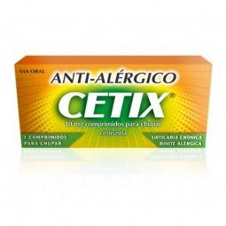 Cetix 10 mg - 7 comprimidos para chupar - comprar Cetix 10 mg - 7 comprimidos para chupar online - Farmácia Barreiros - farmá...
