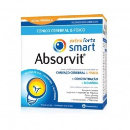 Absorvit Smart Extra Forte - 20 x 10 mL - comprar Absorvit Smart Extra Forte - 20 x 10 mL online - Farmácia Barreiros - farmá...