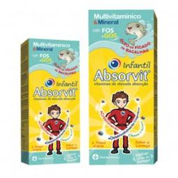 Absorvit Infantil Óleo de Fígado de Bacalhau - 150 mL - comprar Absorvit Infantil Óleo de Fígado de Bacalhau - 150 mL online ...