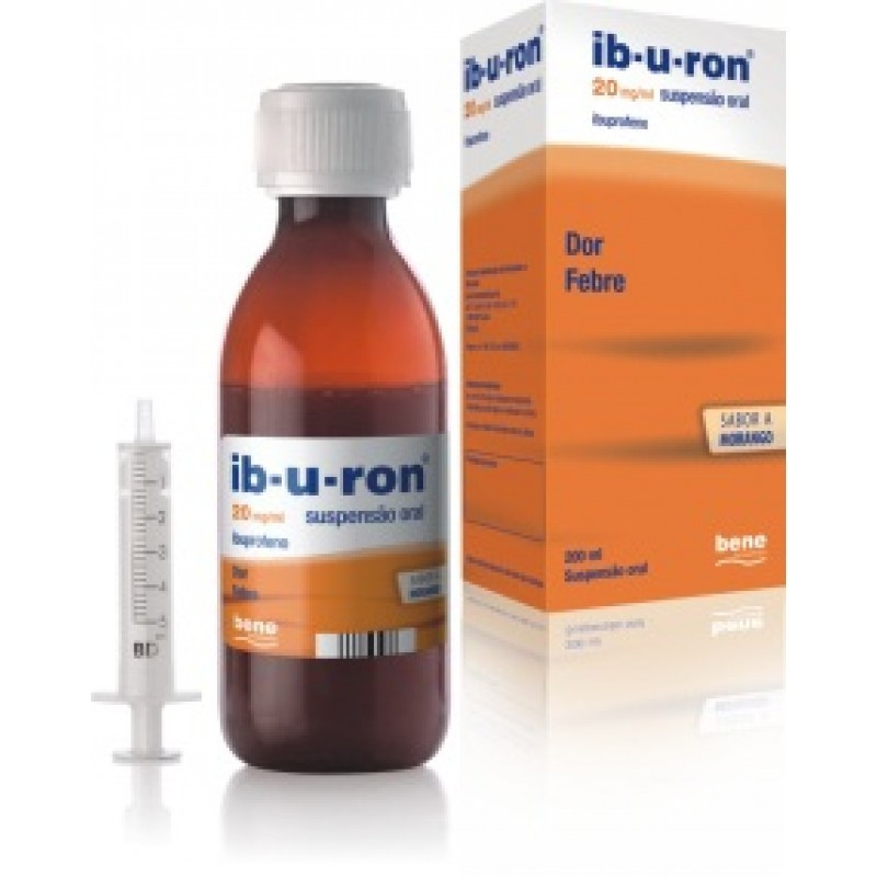 Ib-u-ron - 20 mg/mL-200 mL - comprar Ib-u-ron - 20 mg/mL-200 mL online - Farmácia Barreiros - farmácia de serviço