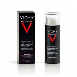 Vichy Homme Hydra Mag C + Hidratante Antifadiga Rosto + Olhos - 50 mL - comprar Vichy Homme Hydra Mag C + Hidratante Antifadi...