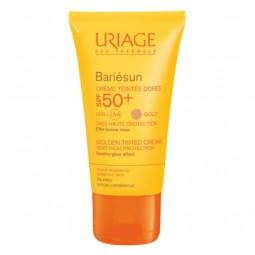 Uriage Bariésun Creme Cor Dourado SPF 50+ - 50 mL - comprar Uriage Bariésun Creme Cor Dourado SPF 50+ - 50 mL online - Farmác...