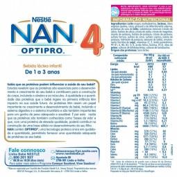 NAN Optipro 4 - 800 g - comprar NAN Optipro 4 - 800 g online - Farmácia Barreiros - farmácia de serviço