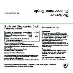 BioActivo Glucosamina Duplo - 60 comprimidos - comprar BioActivo Glucosamina Duplo - 60 comprimidos online - Farmácia Barreir...