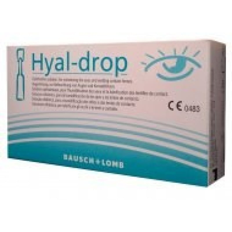 Hyal Drop Solução Oftálmica - 10 monodoses x 0,5 mL - comprar Hyal Drop Solução Oftálmica - 10 monodoses x 0,5 mL online - Fa...