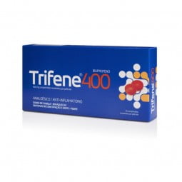 Trifene 400mg - 20 comprimidos - comprar Trifene 400mg - 20 comprimidos online - Farmácia Barreiros - farmácia de serviço