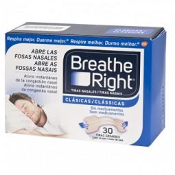 Breathe Right Tiras Nasais Clássicas Tamanho G - 30 tiras - comprar Breathe Right Tiras Nasais Clássicas Tamanho G - 30 tiras...