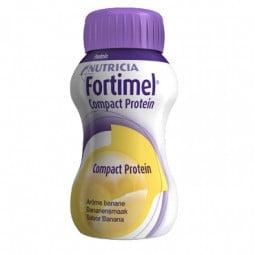 Fortimel Compact Protein Banana - 4 x 125 mL - comprar Fortimel Compact Protein Banana - 4 x 125 mL online - Farmácia Barreir...