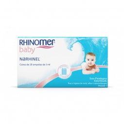 Rhinomer Baby Narhinel Soro Fisiológico - 20 monodoses - comprar Rhinomer Baby Narhinel Soro Fisiológico - 20 monodoses onlin...